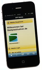 Die neuen für mobilen Zugriff optimierten Webseiten