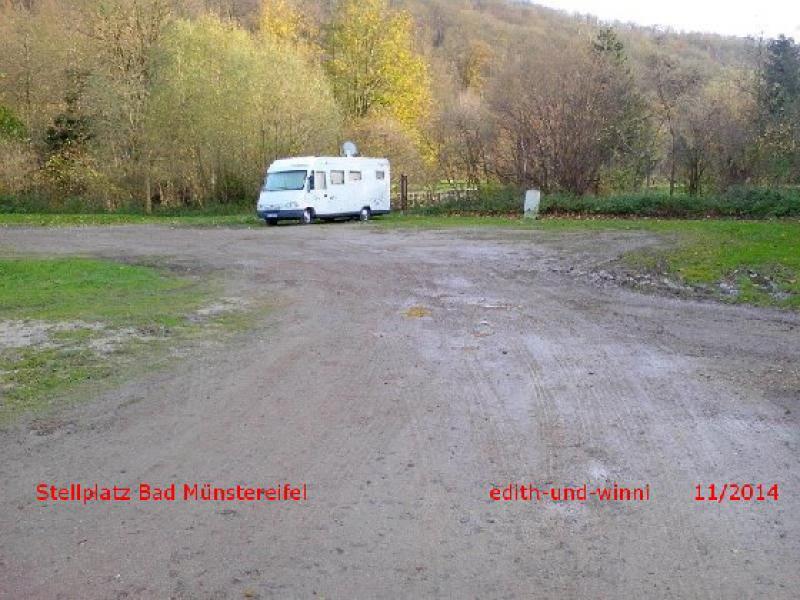 Plätze - Stellplätze - SP Wohnmobilpark am Eifelbad