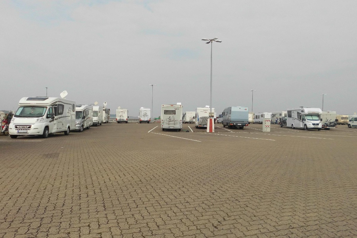 Webcam Wohnmobilstellplatz Cuxhaven