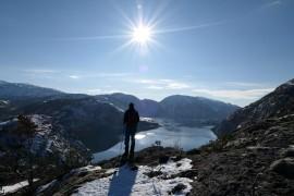 Fjord auf 3 km
