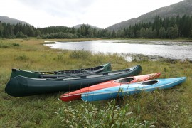 Kano, Kayak und Ruderboot verleih