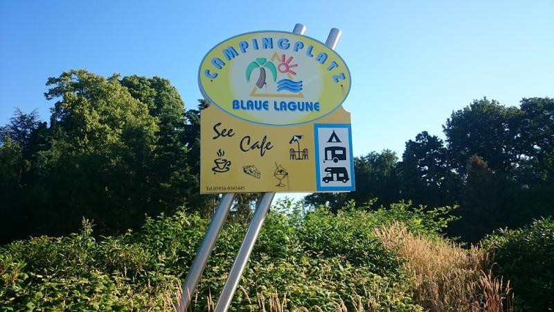 Camping blaue lagune twist