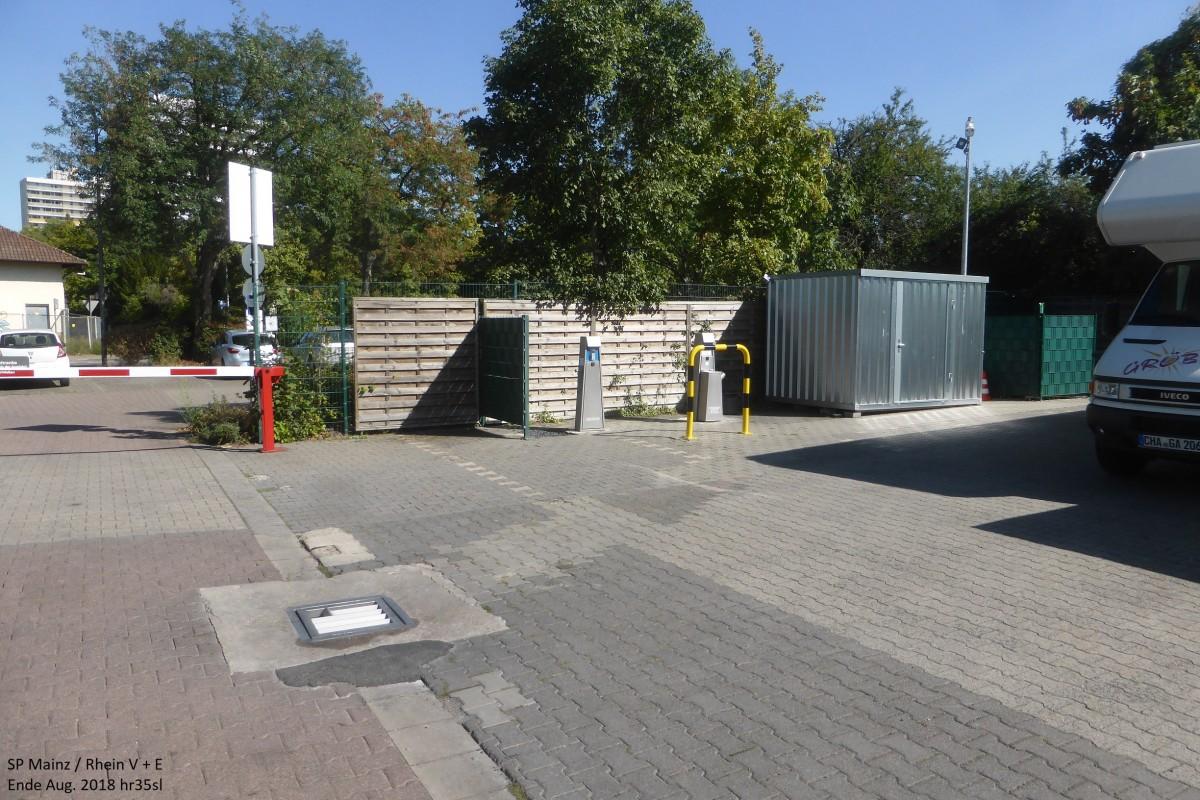 Plätze - Stellplätze - Plätze - Wohnmobil-Stellplatz-Mainz