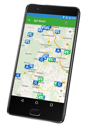 SPF Mobil - die Android App